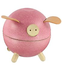 PlanToys Piggy Bank - Pink