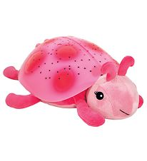Cloud-B Night Lamp - Twilight Ladybug - 24 cm - Rose