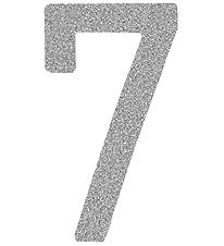 Thats Mine Numbers - 7 - Silver Glitter