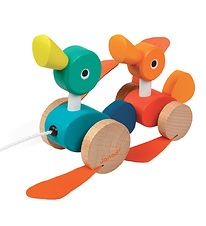 Janod Pull Along Toy - Ducks