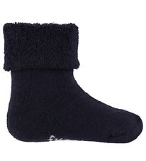Fuzzies Terry Socks - Navy