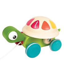 Janod Pull Along Toy - Turtle