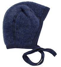 Engel Baby Hat - Wool - Blue Melange