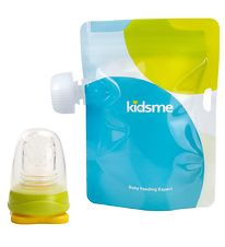 KidsMe Food Pouches w. Adapter - Lime