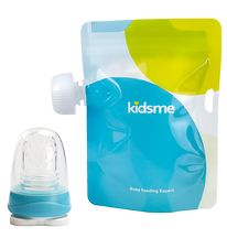 KidsMe Food Pouches w. Adapter - Blue