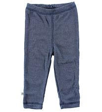 Smallstuff Leggings - Wool - Blue