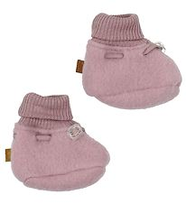 Smallstuff Booties - Wool - Rose