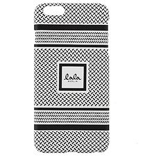 Lala Berlin Phone Case - iPhone 6+ - Black/White