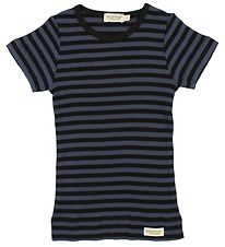 MarMar T-shirt - Navy/Black Striped