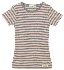 MarMar T-shirt - Pink/Grey Striped