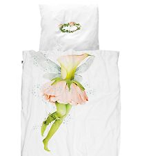Snurk Duvet Cover - Adult - White w. Fairy
