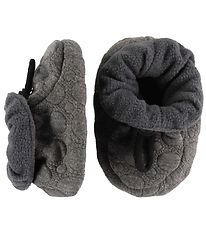 Fuzzies Slippers - Uno - Grey
