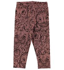 Soft Gallery Leggings - Paula - Burlwood w. Owls