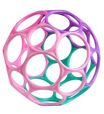 Oball Classic Ball - 8 cm - Pink/Blue/Purple/Pink