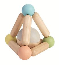 PlanToys Clutching Toy - Triangle - Pastel