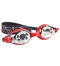 Bling2o Swim Goggles - Captain Kid - Black/Red