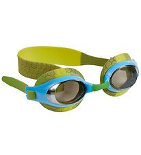 Bling2o Swim Goggles - Snappy - Dusty Green w. Turtle