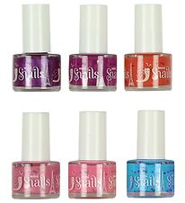 Snails Nail Polish - 6-Pack - Purple/Rose/Yellow