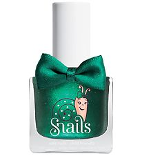 Snails Nail Polish - Candy Apple - Dark w. Glitter
