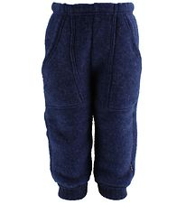 Joha Trousers - Wool - Navy