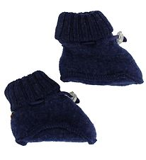 Joha Booties - Wool - Navy