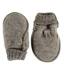 Joha Mittens - Wool - Light Brown