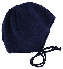 Joha Baby Hat - Wool - Navy