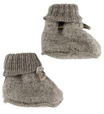 Joha Booties - Wool - Light Brown