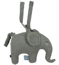 Smallstuff Musical Mobile - Elephant - Grey