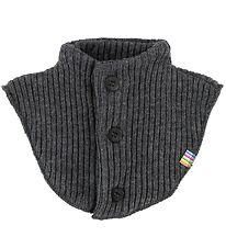 Joha Neck Warmer - Wool - Charcoal