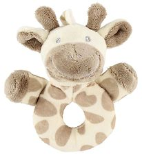 My Teddy Rattle - Giraffe - Light Brown/Ivory