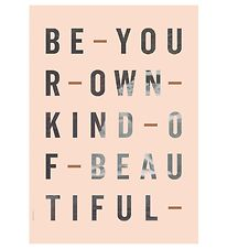 I Love My Type Poster - A3 - Just My Type - Be Your Own Kind