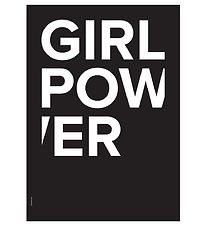 I Love My Type Poster - A3 - The Powerful Type - Girl Power