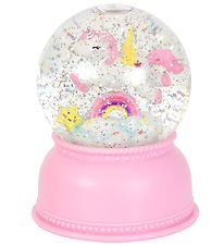 A Little Lovely Company Snow Globe - D:14,5 cm - Unicorn w. Ligh