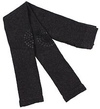 GoBabyGo Non-Slip Leggings - Dark Grey Melange