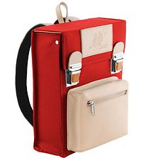 Jens Storm Kbh Preschool Backpack - Red