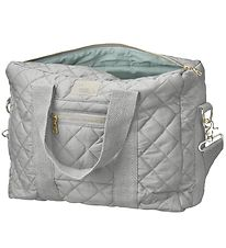 Cam Cam Changing Bag - Quilted - Grey