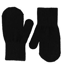 CeLaVi Mittens - Wool/Nylon - Black