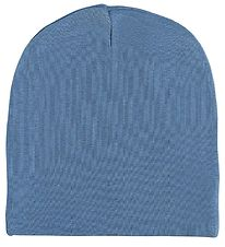 Racing Kids Beanie - 2-layer - Dusty Blue