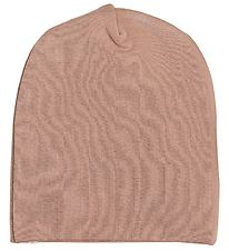 Racing Kids Beanie - 2-layer - Light Brown