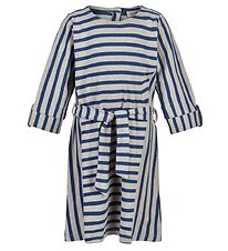 Noa Noa Miniature Dress - Art Blue w. Stripes