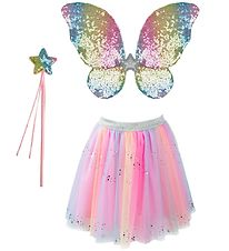 Great Pretenders Costume - Rainbow Sequins - Multicoloured