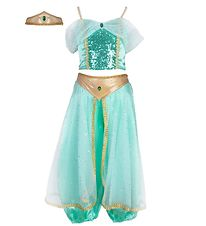 Great Pretenders Costume - Jasmine - Teal w. Sequins