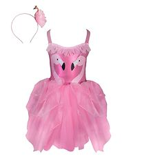 Great Pretenders Costume - Fancy Flamingo - Pink w. Glitter