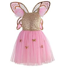 Great Pretenders Costume - Butterfly - Rose/Gold