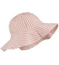 Liewood Sun Hat - Amelia - Coral Blush/Ivory