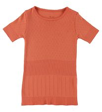 Noa Noa Miniature T-shirt - Knitted - Mini Basic Doria - Apricot