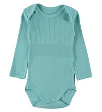 Noa Noa Miniature Bodysuit L/S - Knitted - Doria - Miami Blue