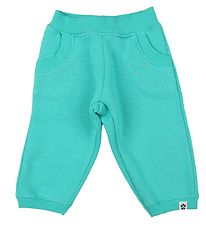 Papfar Kids Sweatpants - Aqua Green