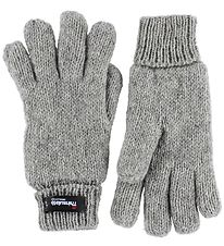 Mikk-Line Gloves - Thinsulate - Grey Melange